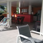 Terrasse et salon